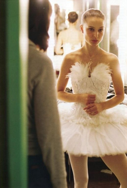 Natalie Portman and Laura Mulleavy of Rodarte on set for Black Swan (2010)  By Autumn de Wilde