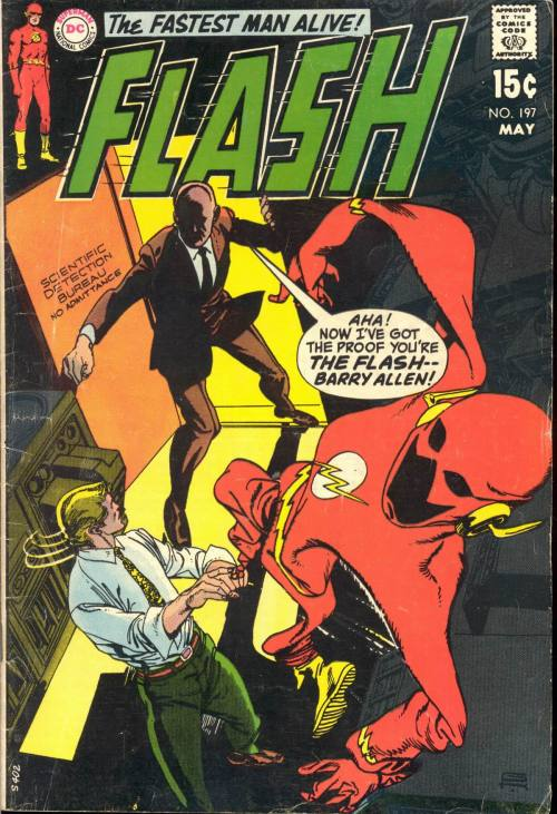 Flash #197, May 1970, cover by Gil Kane