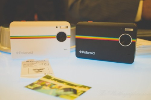 Tonight, we saw the Instagram camera Polaroid Z2300 with the ability to print 2×3 inch photos. Utilizing Zink paper with the ink built right inside, the camera is capable of both taking and storing digital photos and printing them out whenever you'd like. The prototype that we saw was quite intriguing. (via First Impressions: Polaroid Z2300 Instant Printing Digital Camera)
