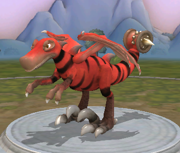 "So I downloaded Spore >____>  Through the use of screensharing my friend Stephen and I created this together, affectionately named ""Asshammer"" they like to bounce around and sing songs about their tools of death and destruction"