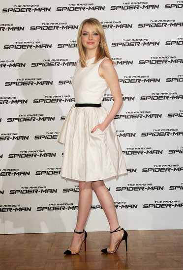 lajolievilleenrose:  Emma Stone in Jason Wu Resort 2013 in Rome