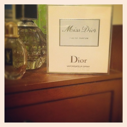 Gift from my Bride, Miss Dior-Love!!!  (Taken with Instagram)