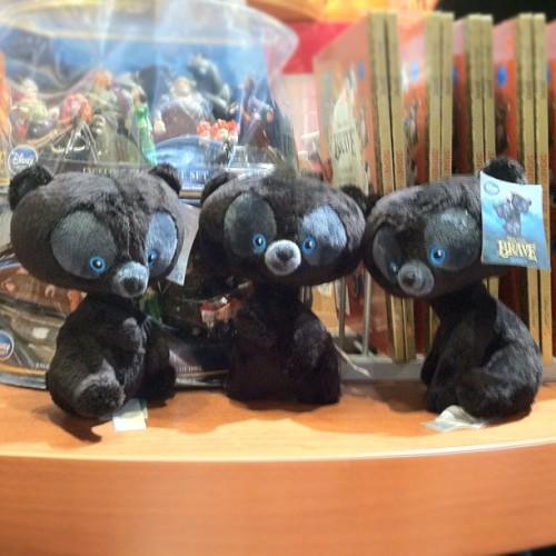 #photoadayjune 25 - #somethingcute - The triplet bears from #Pixar 's #Brave ! :) (Taken with Instagram)