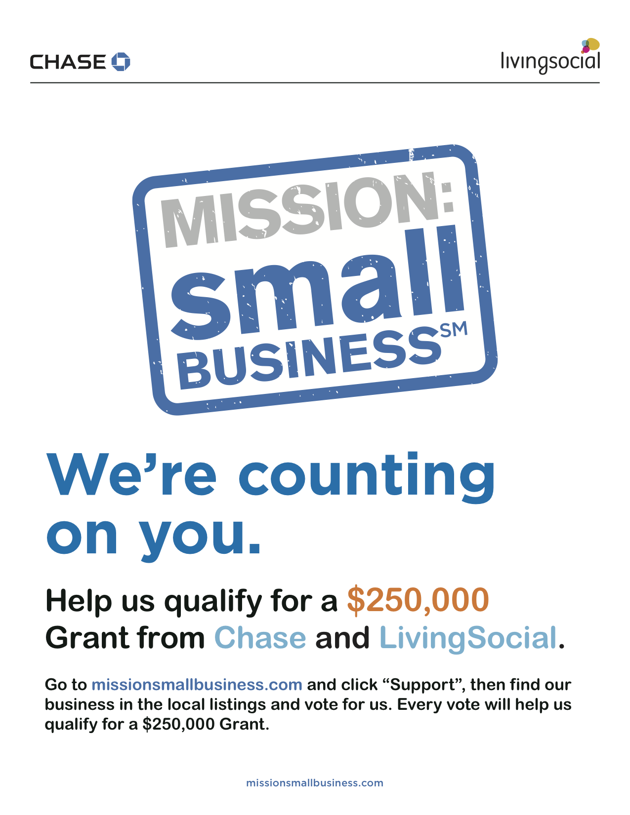 Lovely needs your vote! The gift of this grant from Chase and Living Social would enable Lovely and Lovely, too to grow beyond our dreams. Thank you for your support! just click here to find us and vote! https://www.missionsmallbusiness.com/