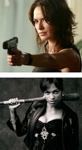 Women and weapons. Gotta love it.