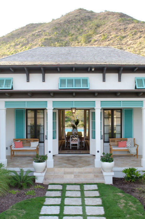 georgianadesign:  Nevis getaway by Herlong & Associates.