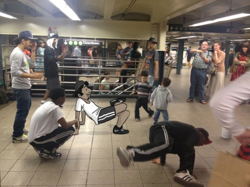 Breakdancers no. 1 @ Union Square Subway Station
