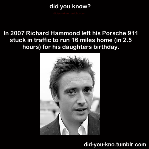 did-you-kno:  Source  the top gear guy!