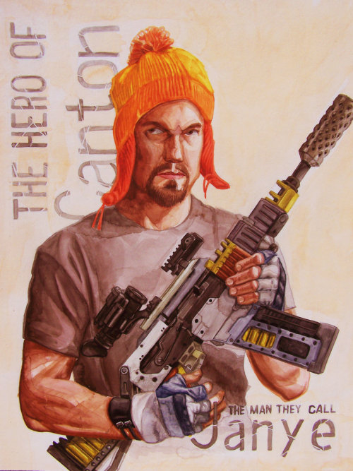 The Man They Call Jayne Jayne Cobb from Firefly/Serenity Created by Michael Sotomayor