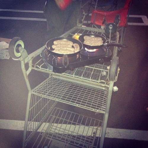 Yea, we know how to party! #ghetto #bbq #party #walmart  (Taken with Instagram)