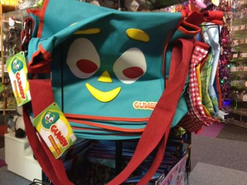 Gumby bag from Toy Joy http://bit.ly/M2u3CI