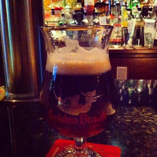 Gulden Draak Ale 10.5% ABV (Taken with Instagram at Croxley's Ale House)