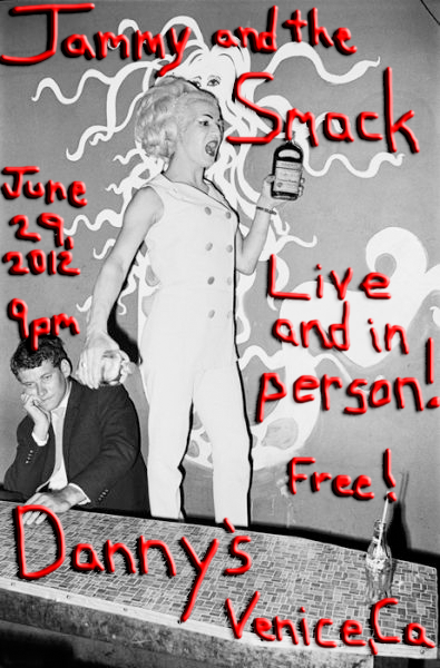 Attention all weekend warriors! Our next show is Friday June 29, 2012 at Danny's Bistro in Venice, CA!