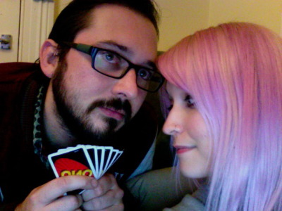 in which boyfriend and i play uno and i win/cheat