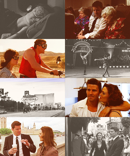 Themed Party | Challenge 70 - Vacations & Voyages↳ Booth & Brennan (Bones)
