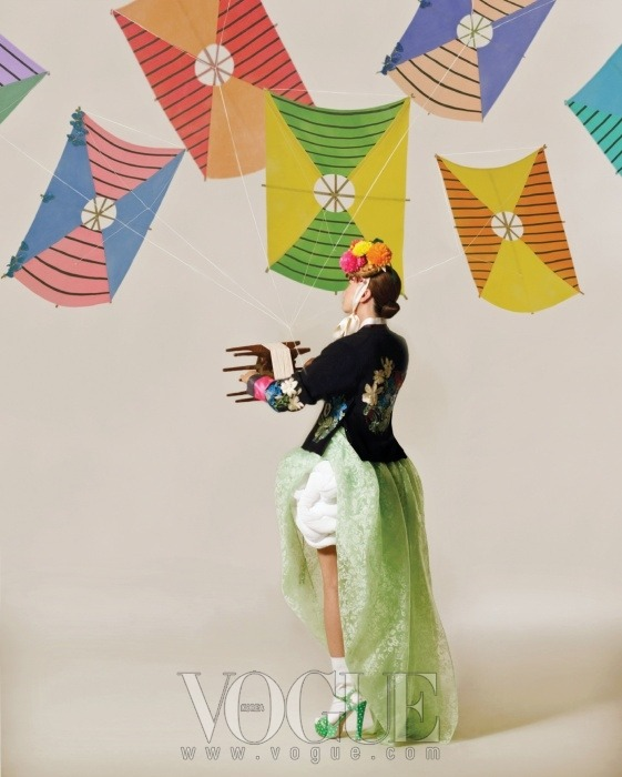 stylekorea:  Vogue Korea Title: Happy Bunny Girl Model: Jang Yoon Ju Photographer: Lee Gun-Ho February 2011