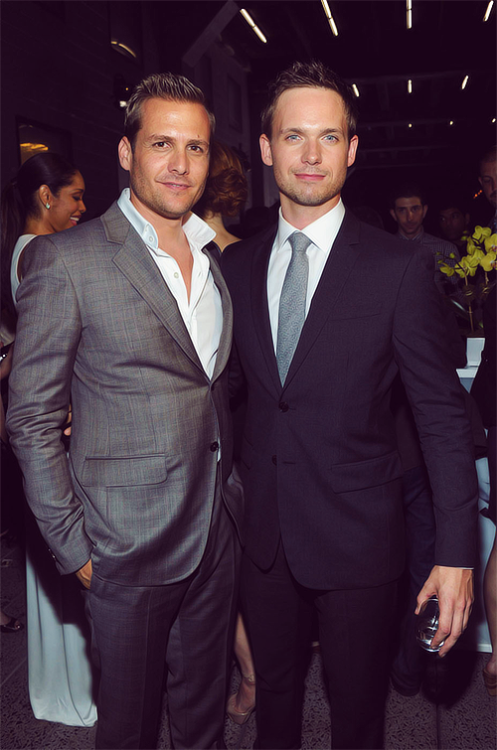 2 OF 50 PICTURES OF GABRIEL MACHT AND PATRICK J. ADAMS
