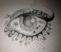 An eye I drew a while ago.