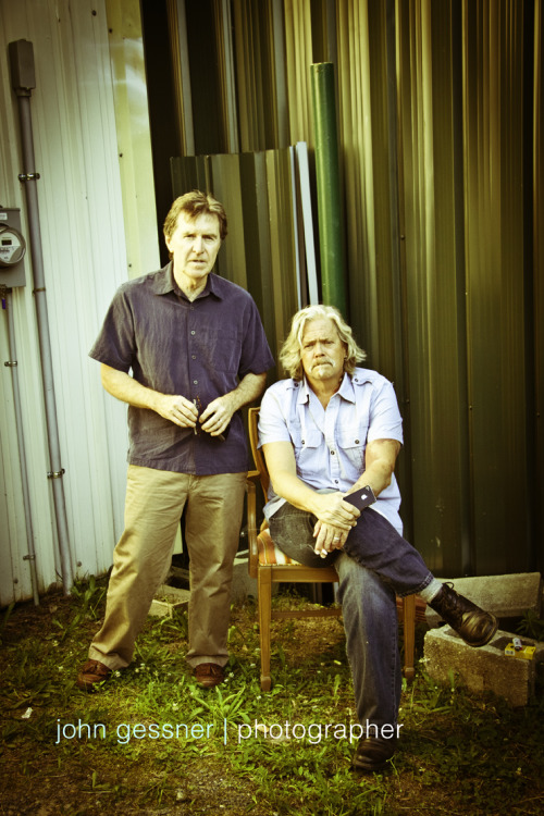 Craig Fuller & John Cowan | Back Stage at The Rooster's Wife