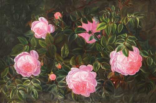 "Johan Laurentz Jensen ""Rose bush"""