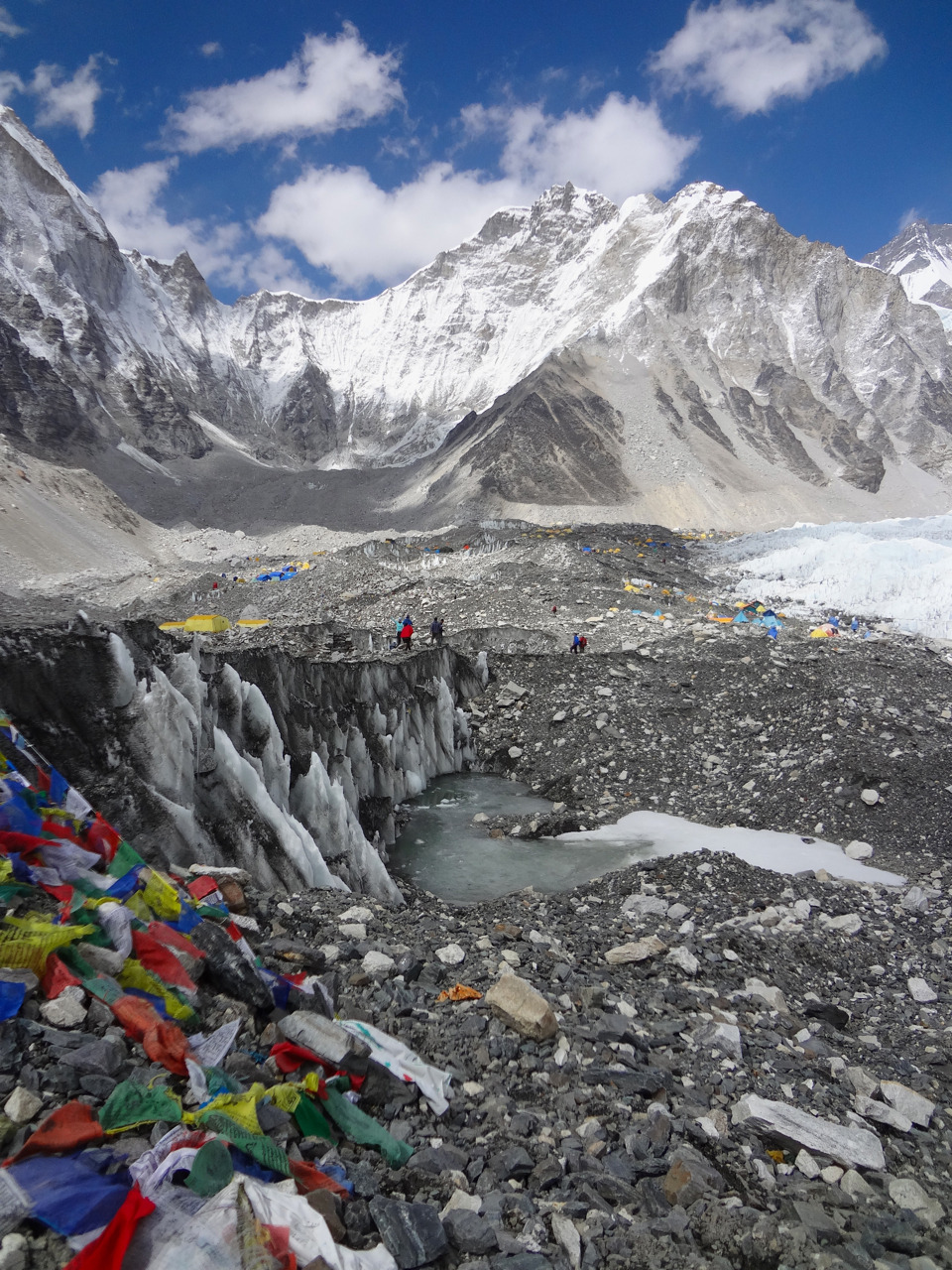 becomingenlightened:  Everest Base Camp17,598 ft
