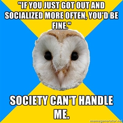 fuckyeahbipolarowl:  Manic or depressed. People just don't know what they're in for.