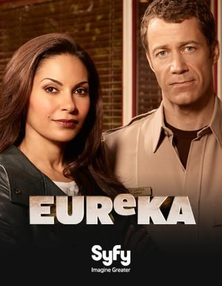 I am watching Eureka                                                  148 others are also watching                       Eureka on GetGlue.com