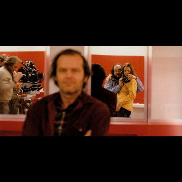 #stanleykubrick #viviennekubrick #jacknicholson #makingof #theshining #beautiful  (Taken with Instagram)