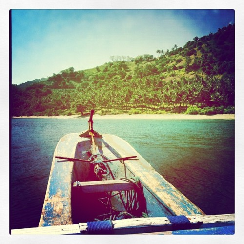 Finally to the sea… (Taken with Instagram at Gili Meno (Lombok, Indonesia))