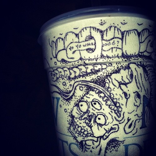 Chic-fil-a cup (Taken with Instagram)