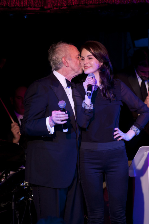 Michelle Dockery and Jonathan Pryce December 4, 2011 - Friendship Works charity fundraiser Reposting one of my all time favs