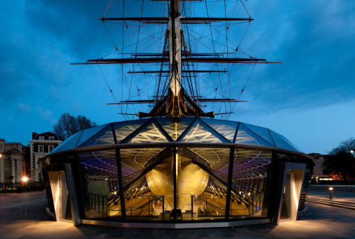 July 12, 2012 | new CUTTY SARK museum | London