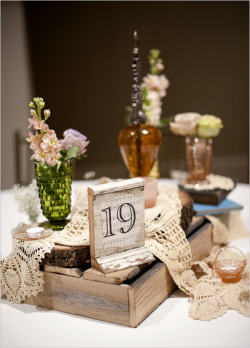 Retro/Rustic table inspiration