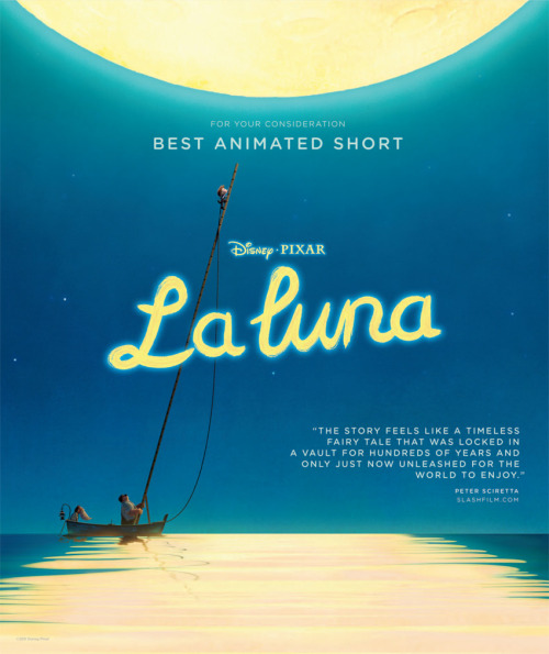 """La Luna"". The short before ""Brave"". Wonderful."
