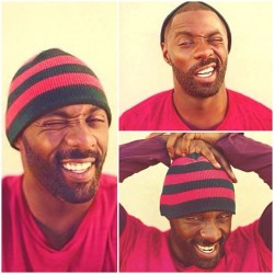 ok, he plays too much..lol  thecocainediaries:  Idris Elba ❤ (Taken with Instagram)