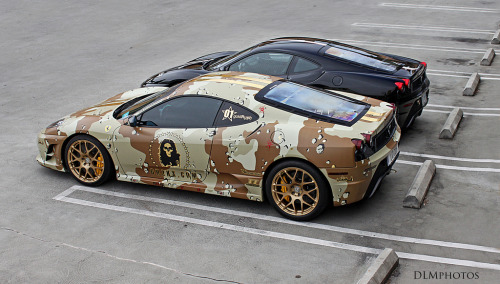 carpr0n:  Special unit Starring: Ferrari F430 Scuderia (by DLMphotos)