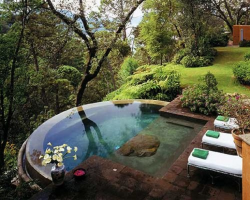homedesigning:  Great Small Pool Designs For Your Small Size Yard