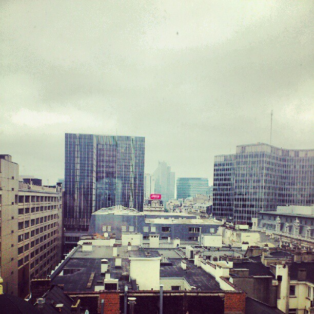 #Bxl #skyline (Taken with Instagram at BXL CITY)