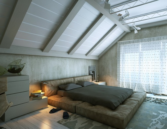 Attic Spaces HD Staff, home-designing.com No longer deemed as dark and dingy stor­age spaces that time for­got, attic spaces are now uti­lized as valu­able exten­sions of the mod­ern home. How­ev­er, the tricky ceil­ing angles and vari­able wall heights can still per­plex a home­own­er as…