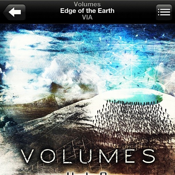 Such a solid tune. #volumes #edgeoftheearth #via #np #metal #music #djent (Taken with Instagram)