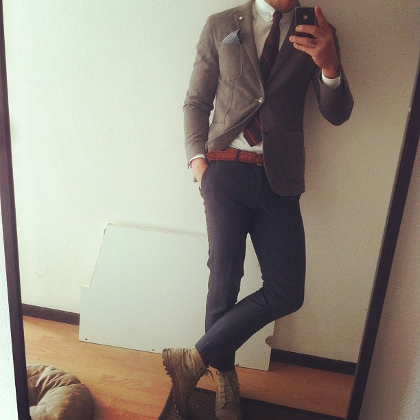 preppybastards:  Outfit (Taken with Instagram)