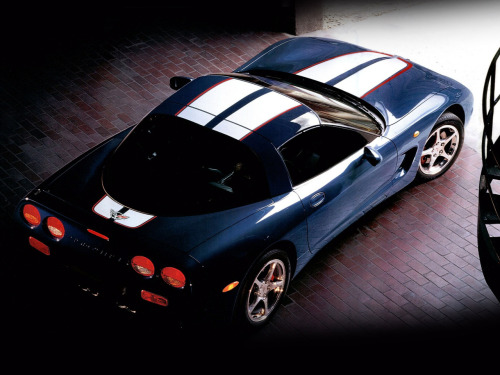 "2003 Chevrolet Corvette Z06 ""Commemorative Edition""."