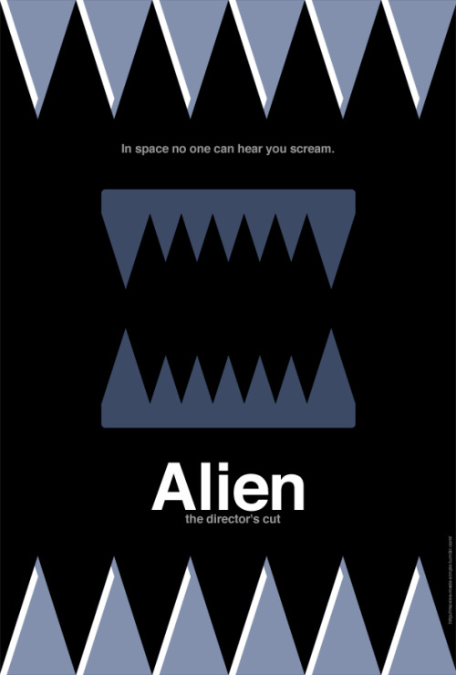 submission from movies-made-simple:  Alien made simple Over on my Movies Made Simple page, i take films and try and simplify them to their basic elements. Thought you might like this one of Alien.  Nice