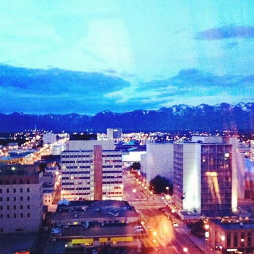 The north is weird. #Anchorage #Alaska #Midnight #Daylight (Taken with Instagram)