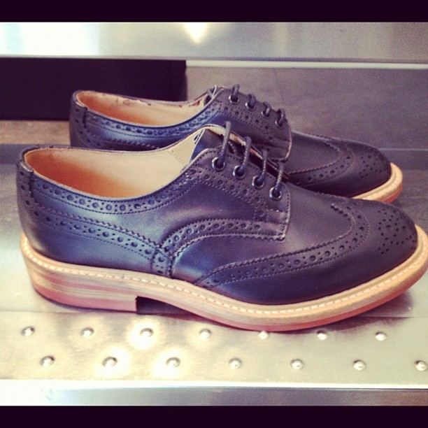 For you Boys! Tricker's. Ss. (Pris avec Instagram)