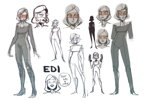 i was trying to figure out how to draw EDI and i got carried away um