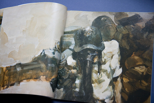World War Robot…Ashley Wood creates AWESOME comic books