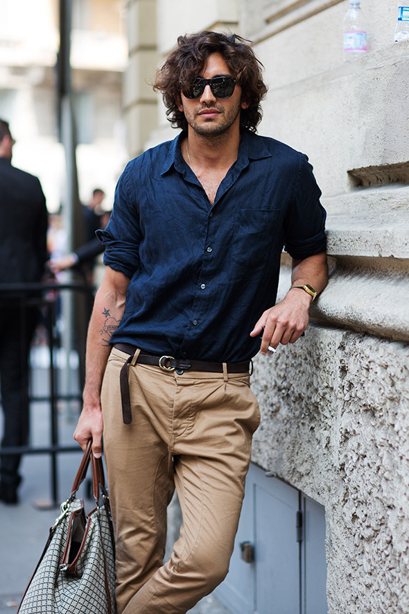 On the Street…..Piazza Oberdan, Milan The Sartorialist, thesartorialist.com