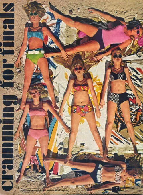 theswinginsixties:  1960s swimwear editorial.