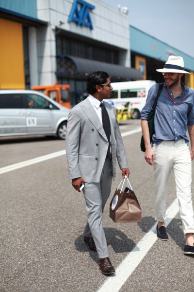 justinchungphotography:  Nish and JD, Amsterdam bound.  straight-up MAN BEAD NECKLACE goodness + HAT